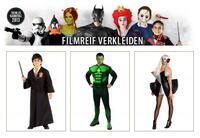 Karnevalstrend 2013: Original Lizenzkostüme aus Film, TV, Games & Comics