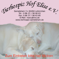 Pax et Bonum Verlag, Inh. Ingolf Ludmann-Schneider, offizieller Botschafter des Tierhospiz Hof Elise e. V. informiert.