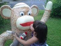 """Die Affen sind wieder los: Rockford feiert die """"Sock Monkey Madness"""" 2013"""