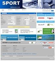 Das Sport Branchenbuch: Stadion, Sportbusiness, Vereinsbedarf