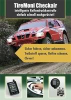 TireMoni Reifendruck-Kontrolle zum leichten Nachrüsten.