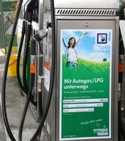 Autogasbilanz 2012 Schweiz: Absatz und Anzahl der LPG-Tankstellen stark gestiegen