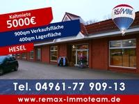 showimage 900 Quadratmeter Verkaufsfläche in Hesel zu mieten