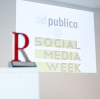 ad publica spricht über Hype-Thema Shitstorm bei der Social Media Week 2013