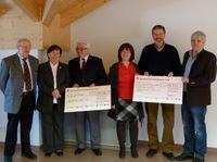 Grandioses Spenden-Ergebnis der EdelweißClassic 2012