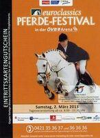 Mit-Pferden-reisen.de verlost Tickets für Euroclassics Pferde-Festival in Bremen
