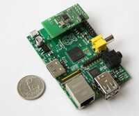 """Europa-Premiere von Z-Wave Gateway auf der CeBIT 2013: RaZberry macht Raspberry Pi """"ready for Smart Home"""""""
