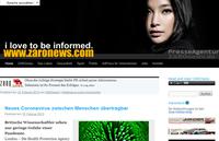 ZAROnews, Online-Presse-Magazin im neuen Look