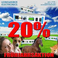 20 Prozent auf alle IFR-Neugeräte von LEINEWEBER ELECTRONICS