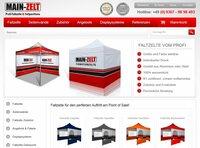 Main-Zelt startet mit neuem Online Shop