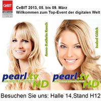 Die schönsten Frauen Deutschlands auf dem CeBIT-Stand von PEARL!