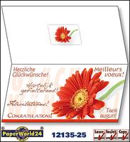 Grußkarten für Ihre Glückwünsche online bei PaperWorld24.com