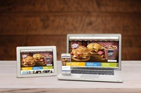 """Alles auch zum Mitnehmen: McDonald""""s setzt bei seiner neuen Webseite auf Responsive Design"""