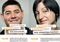 """Brandkampagne """"Mein Markt ist markt.de"""" wird fortgesetzt - Neue Motive ergänzen Werbekampagne"""