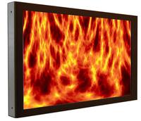 reikotronic bietet TFT/LCD-Großbildschirme mit Brandschutzabnahme