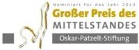 PFK Group GmbH erneut für Großen Preis des Mittelstandes 2013 der Oskar-Patzelt-Stiftung nominiert