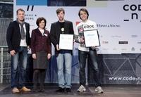 Crowdfunding live auf der CeBIT: Changers.com und carzapp gewinnen Sonderpreis von CODE_n