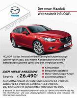 Probefahrt bei Hugo Pfohe: Mazda 6 überzeugt durch Sparsamkeit