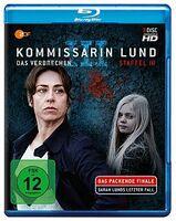 3. Staffel der ZDF-Erfolgskrimiserie Kommissarin Lund - Das Verbrechen auf Blu-ray/DVD