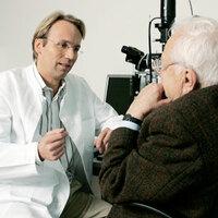 Augeninfarkt kann zur Erblindung führen