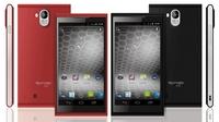"simvalley MOBILE Dual-SIM-Smartphone SP-360 DualCore 4.7"", schwarz und rot"