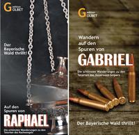 Tatortwanderkarten: Auf Mörderjagd durch den Bayerischen Wald