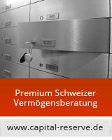 Kapitalanlagen in der Schweiz - sicher bei Schweizer Banken