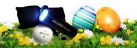 Was haben Ostereier und Golfbälle gemeinsam!?
