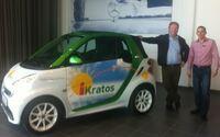 Der Elektrosmart fährt jetzt auch bei iKratos