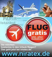 Große Freiflug Aktion: Kostenlose Flugtickets zu verschenken