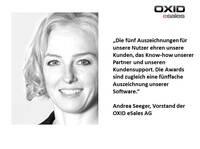 Internet World Business Shop Award 2013: Fünf Shops auf OXID Plattform ausgezeichnet