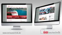SB Bautechnik  Präsentation von Kompetenz und Sicherheit