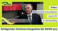 Neue ESTOS / DATEV Referenzberichte: CTI- und UC-Funktionen optimieren Kommunikationsprozesse