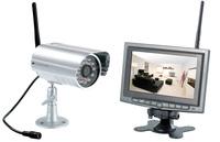VisorTech Kabelloses Profi-Überwachungssystem mit IR-Funk-Kamera