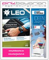 Die Journal-Welt wird pink und kreist um pinkbavarian. ideenjournal von Kaut Bullinger und LEO - dem Trend- und Kultmagazin der Grafschaft Bentheim! Loden-Iphone-Ipad-Hüllen und dem Wiesndascherl.