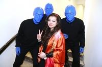 BLUE MAN GROUP  beim Benefizkonzert  I Am Jonny  Stimmen für unseren Bruder im Berliner Admiralspalast