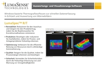 Neue Thermografie-Software für die Echtzeit-Visualisierung und Analyse von Wärmebildern und Temperaturmessungen