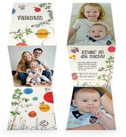Fröhliche neue Geburtskarten bei Karteneden