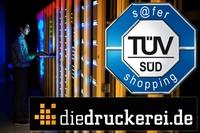 diedruckerei.de erneut mit TÜV-Siegel s@fer-shopping ausgezeichnet