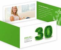 Die Farbe Grün bei Einladungskarten zum Geburtstag