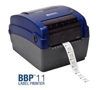Laboretiketten bedrucken mit dem Tischdrucker BBP11-300
