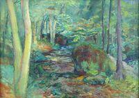 Ölgemälde des Malers Kokoschka wird in Bielefeld versteigert.