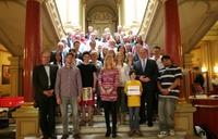 EU-Strukturfondskampagne Sachsen-Anhalts:  Sieger des Film- und Fotowettbewerbs Dafür stehen wir früher auf ausgezeichnet