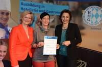 Serviceleiterin aus dem relexa hotel Bad Steben in Bayern erneut Ausbildungsbotschafter