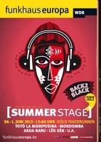 """Back 2 Black"": Funkhaus Europa SummerStage am 1. Juni in Köln"