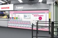 BWT mit Promotions für den Gourmet-Tischwasserfilter im Lebensmitteleinzelhandel