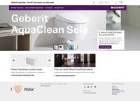 SF eBusiness konzipiert Kampagnenwebsite für Geberit AquaClean