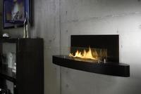 Bio-Ethanol-Kamine können (fast) überall eingebaut werden - Feuer ohne Schornstein