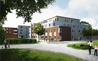 """Neue Pflegeimmobilie vor den Toren Hamburgs, in Seevetal-Meckelfeld Seniorenzentrum """"Zur Pulvermühle"""""""
