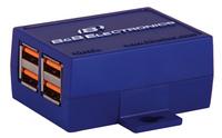B&B Electronics erweitert seine USB Hub Familie um 4-Port Mini USB 2.0 Hub